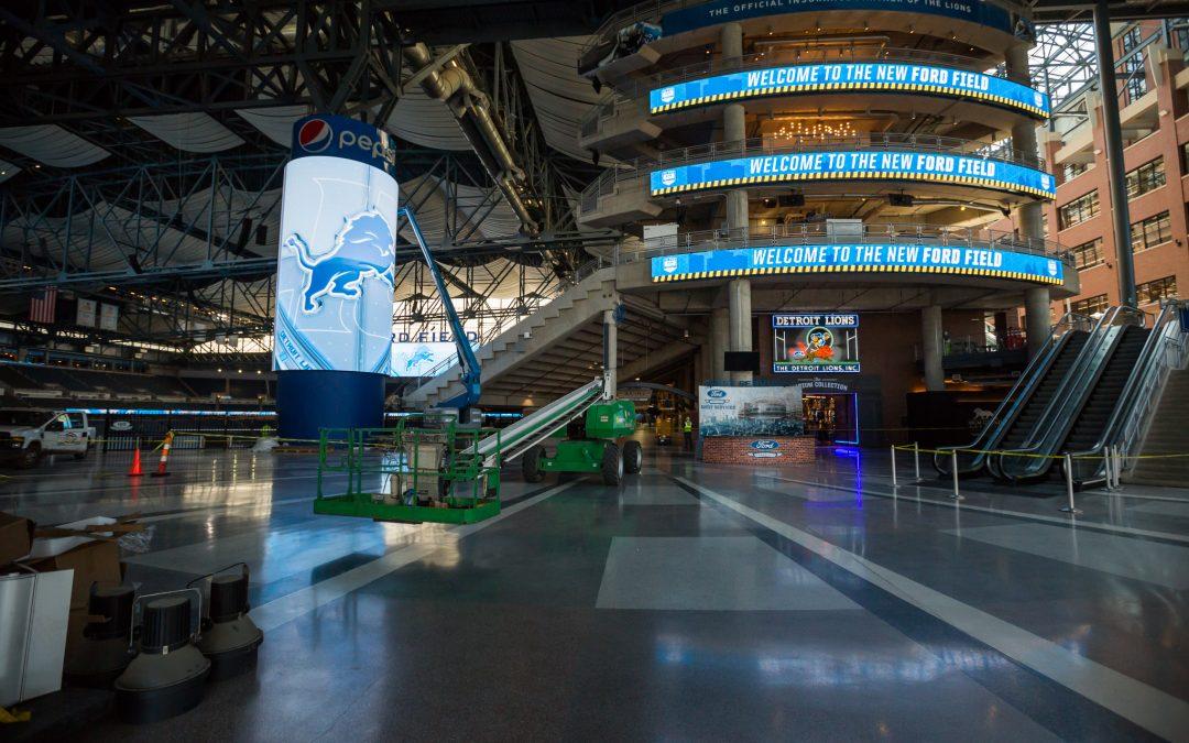 Ford Field 2017 Renovation