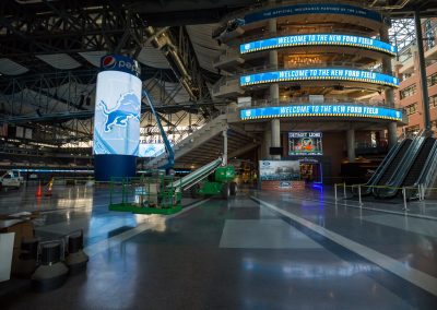 Ford Field 2017 Renovation
